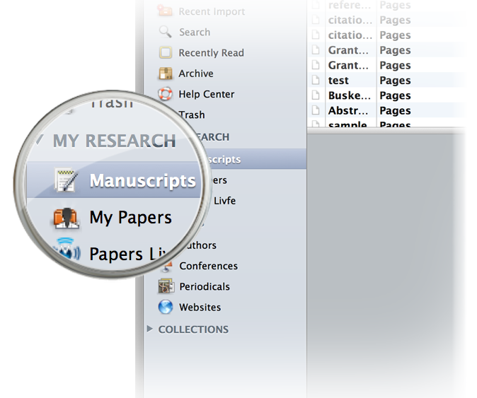 organise research papers mac